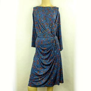 SIMPLY BE Sheath Paisley dress plus size 22